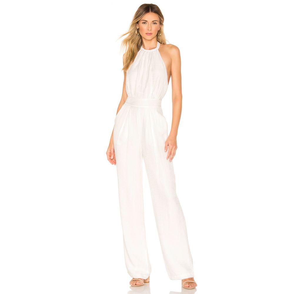 ハウスオブハーロウ1960 House of Harlow 1960 レディース オールインワン ワンピース・ドレス【x REVOLVE Sefina Jumpsuit】White