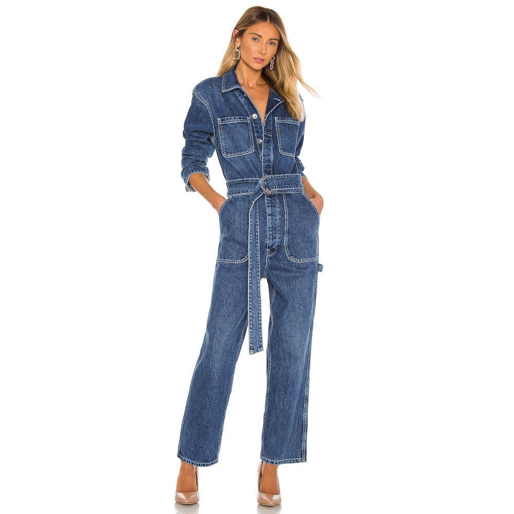 ハドソンジーンズ Hudson Jeans レディース オールインワン ワンピース・ドレス【Denim Utility Jumpsuit】Tempted