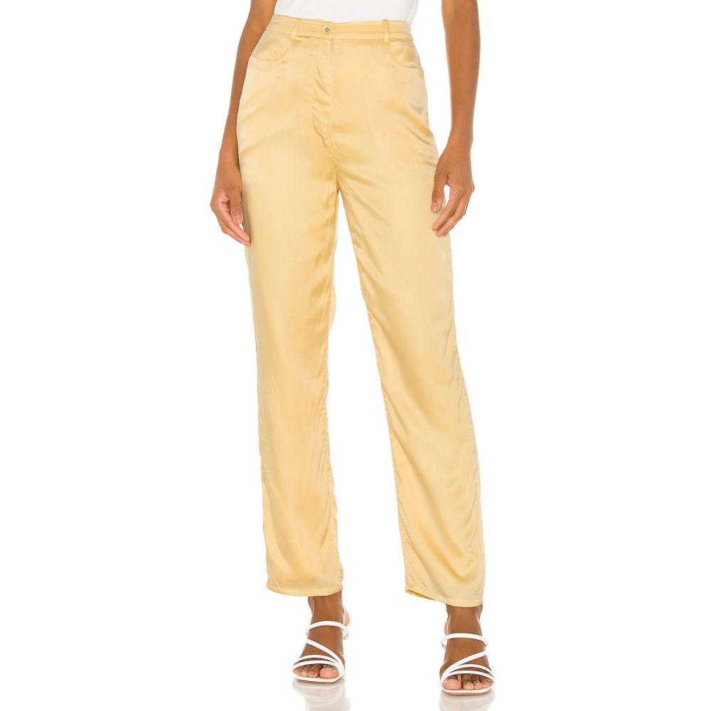 ソング オブ スタイル Song of Style レディース ボトムス・パンツ 【Elise Pant】Buttercream Yellow