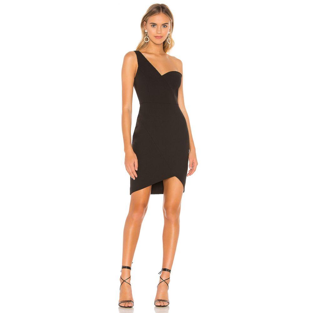ビーシービージーマックスアズリア BCBGMAXAZRIA レディース パーティードレス ワンピース・ドレス【Eve One Shoulder Dress】Black