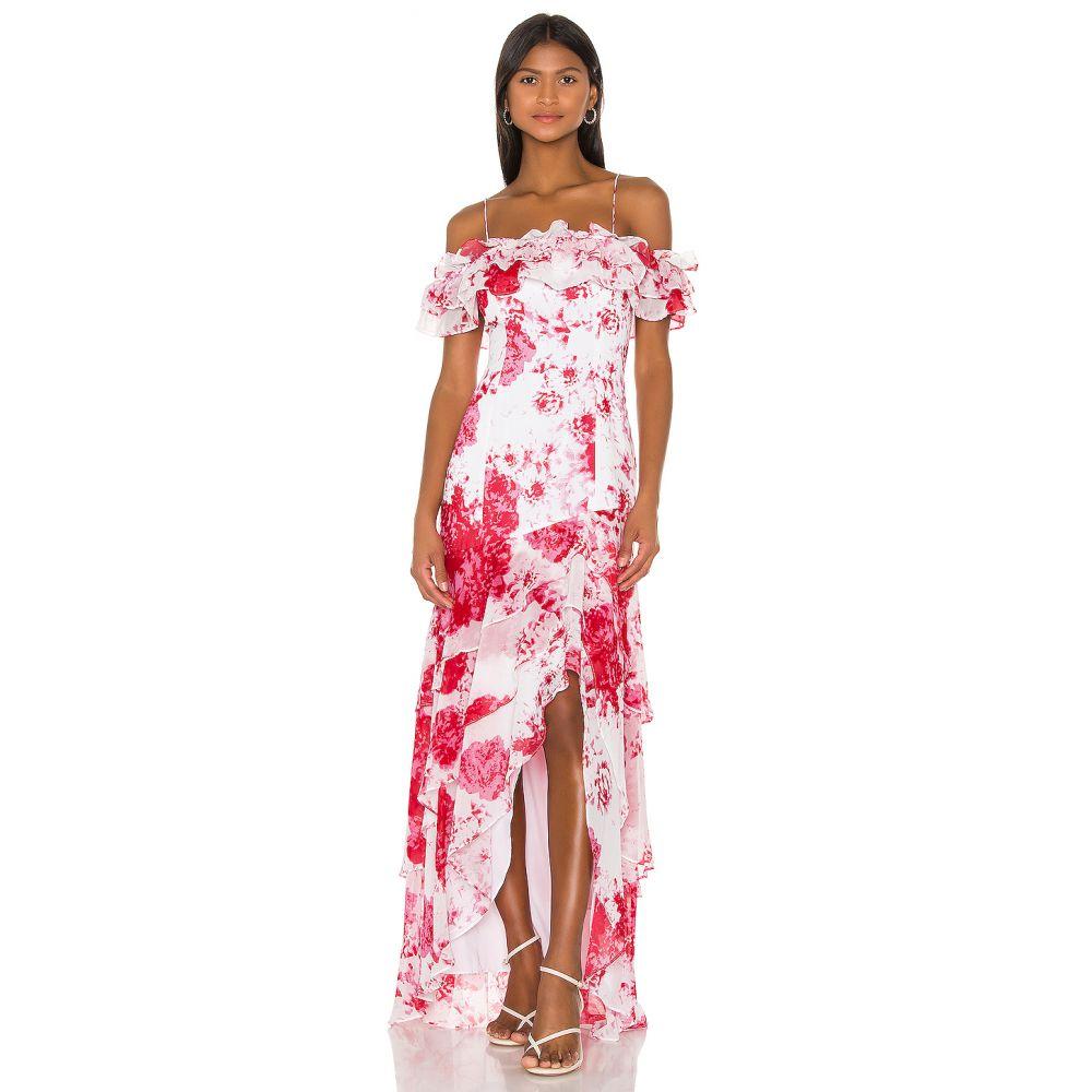 キープセイク keepsake レディース パーティードレス ワンピース・ドレス【Enchanted Gown】Ivory Rose Floral
