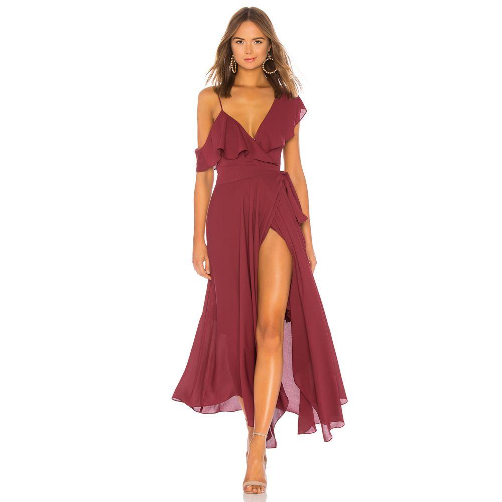 ライクリー LIKELY レディース パーティードレス ワンピース・ドレス【Leilani Gown】Zinfandel