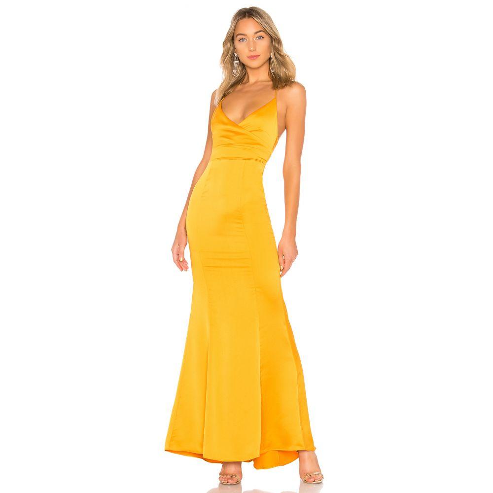 ラヴァーズフレンズ Lovers + Friends レディース パーティードレス ワンピース・ドレス【Vilailuck Gown】Golden Yellow