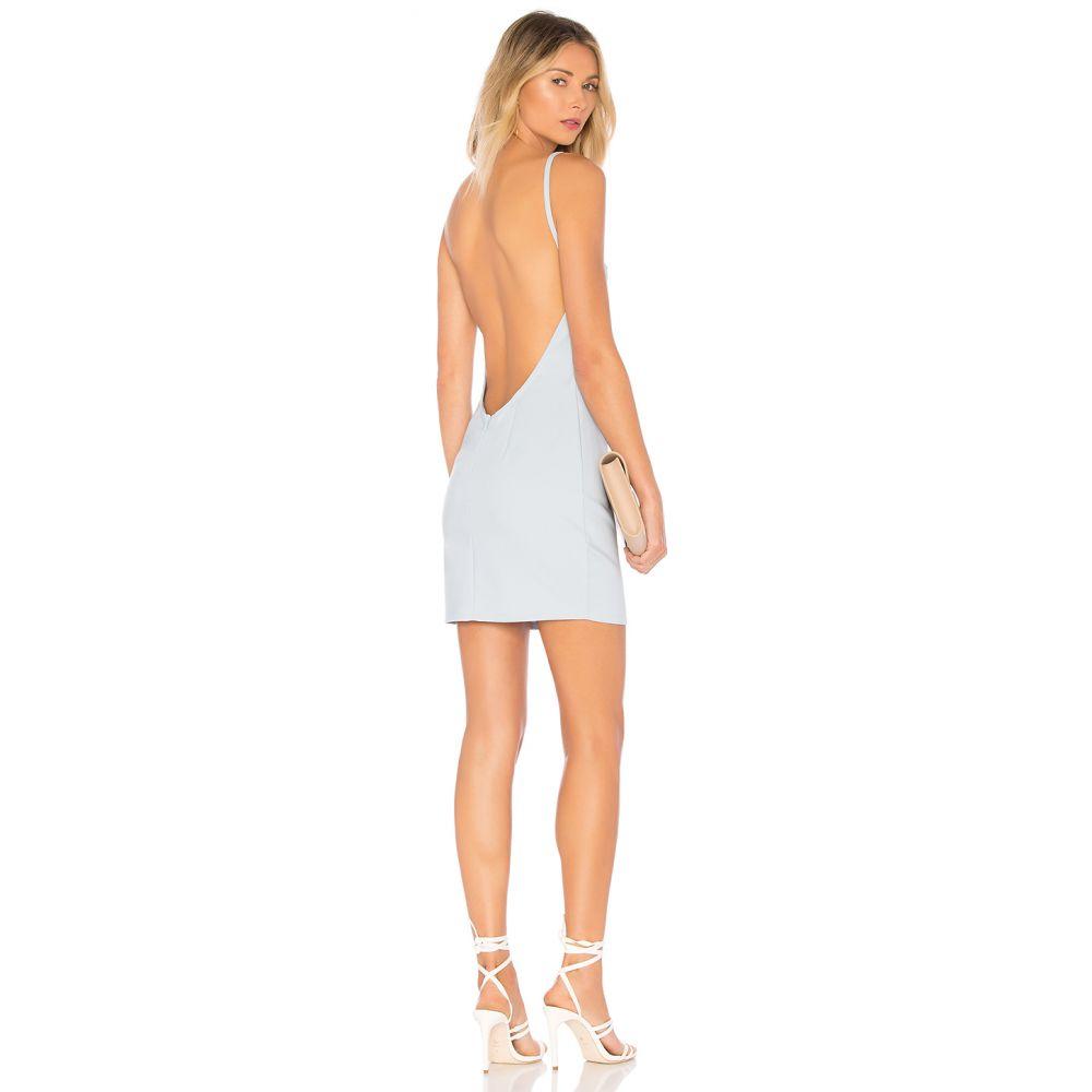 スーパーダウン superdown レディース ボディコンドレス ワンピース・ドレス【Petra Backless Mini Dress】Light Blue