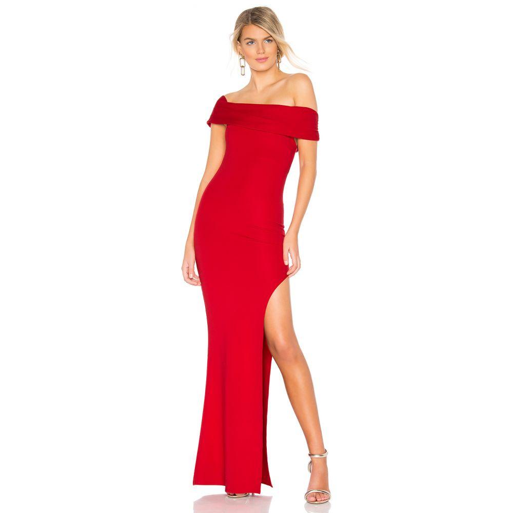 ラヴァーズフレンズ Lovers + Friends レディース パーティードレス ワンピース・ドレス【Marigold Gown】Red