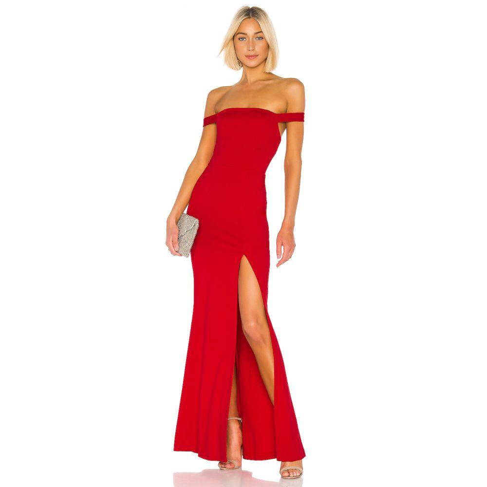 ラヴァーズフレンズ Lovers + Friends レディース パーティードレス ワンピース・ドレス【Caspian Gown】Fiery Red
