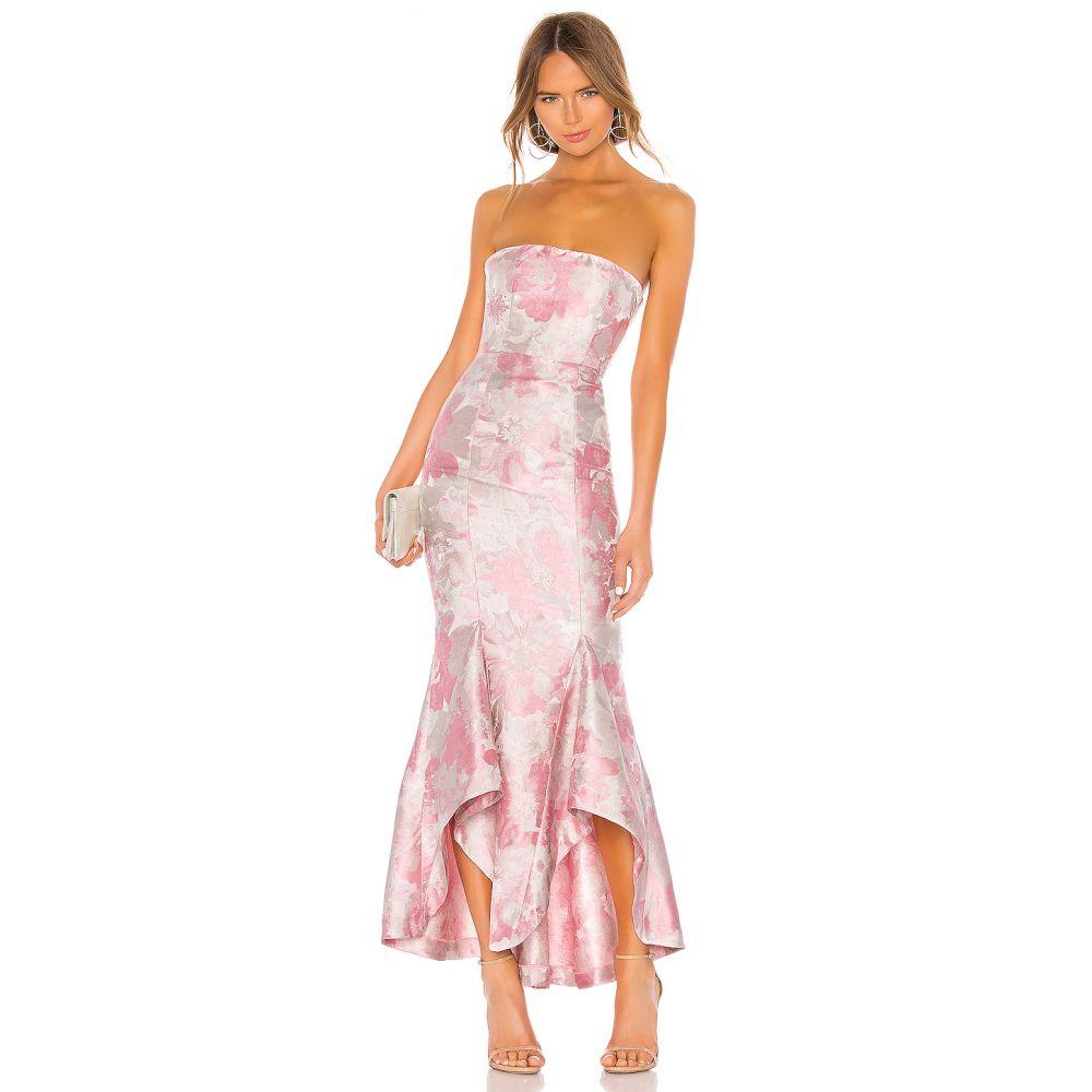 ラヴァーズフレンズ Lovers + Friends レディース パーティードレス ワンピース・ドレス【Urgonia Gown】Pink Tonal