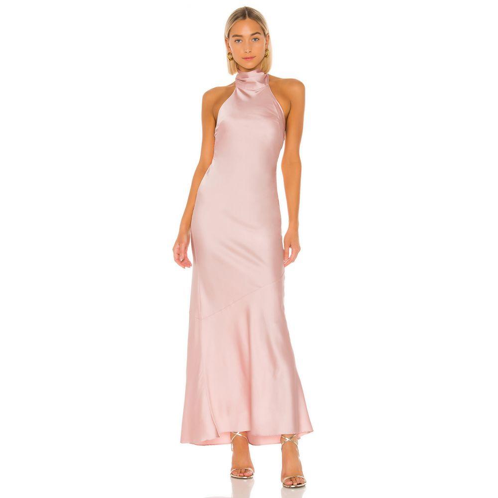 ラヴァーズフレンズ Lovers + Friends レディース パーティードレス ワンピース・ドレス【Claudia Gown】Party Pink