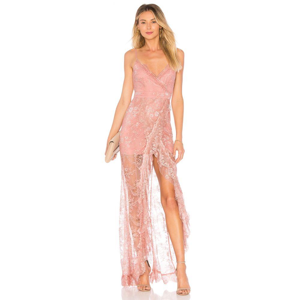 マジョレル MAJORELLE レディース パーティードレス ワンピース・ドレス【Paisley Dress】Blush/Silver