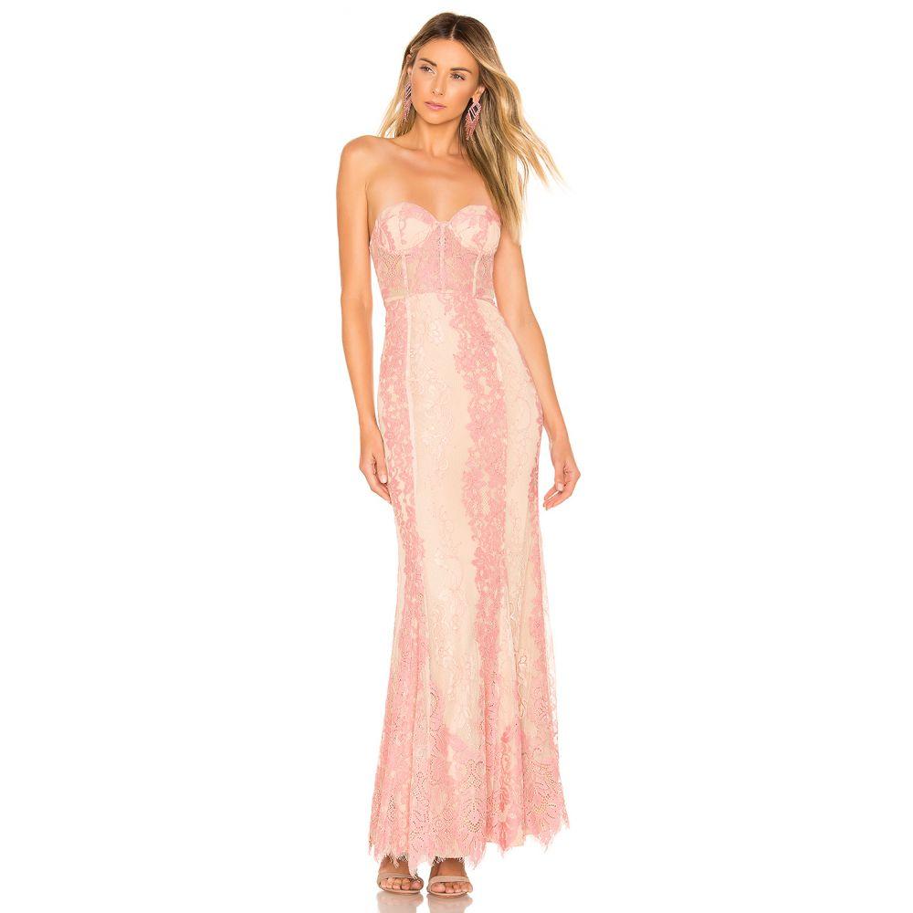 マジョレル MAJORELLE レディース パーティードレス ワンピース・ドレス【Hyperion Gown】Nude/Pink