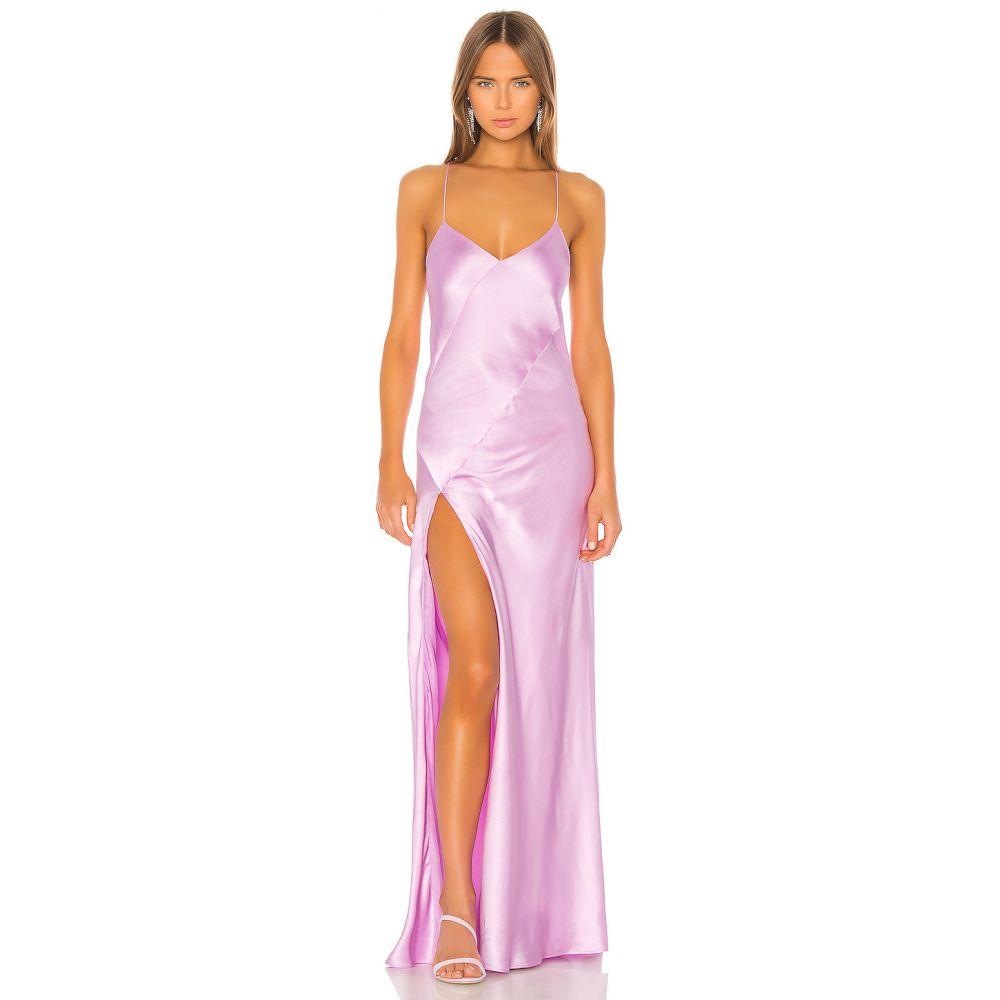 ミシェル メイソン Michelle Mason レディース パーティードレス ワンピース・ドレス【Bias Gown With Slit】Bubblegum