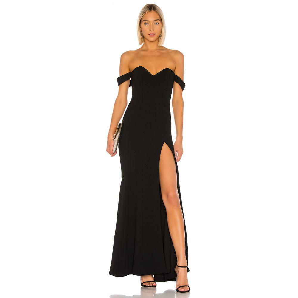 エヌビーディー NBD レディース パーティードレス ワンピース・ドレス【Maracuya Gown】Black