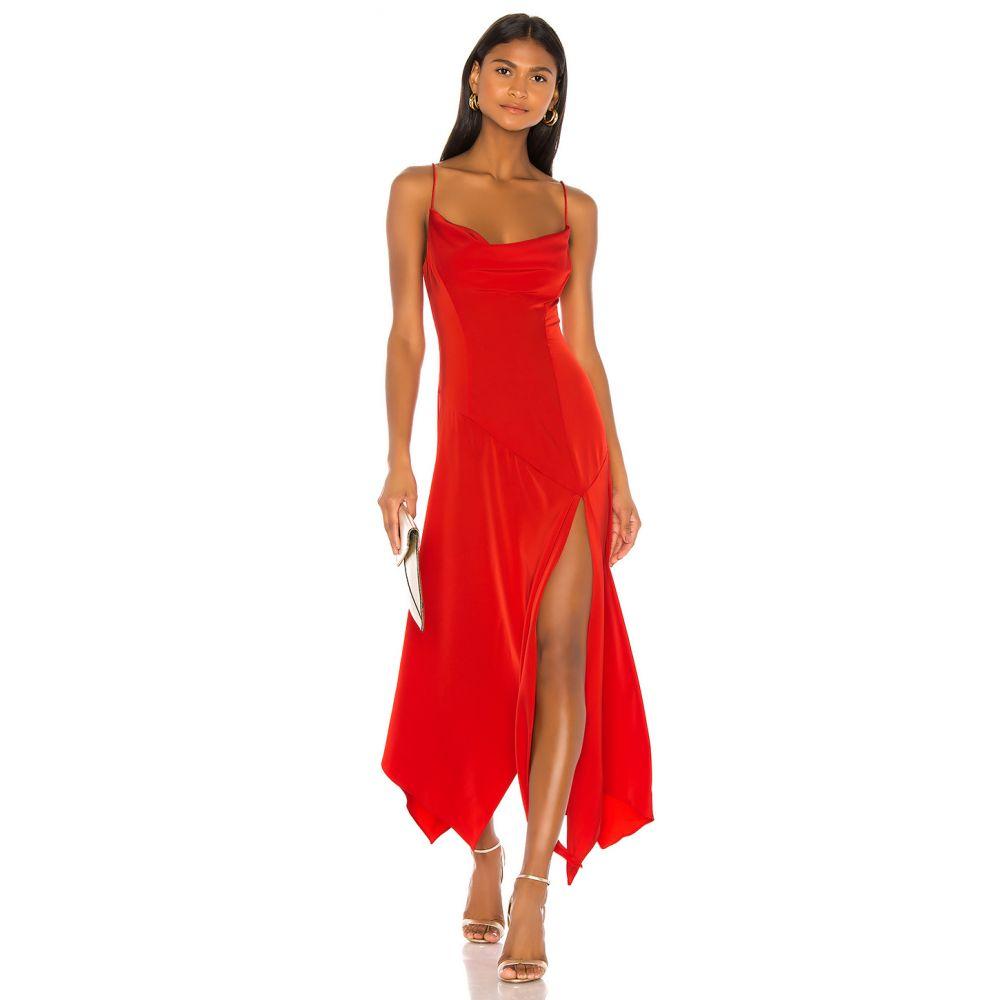 エヌビーディー NBD レディース パーティードレス ワンピース・ドレス【Teodora Gown】Red