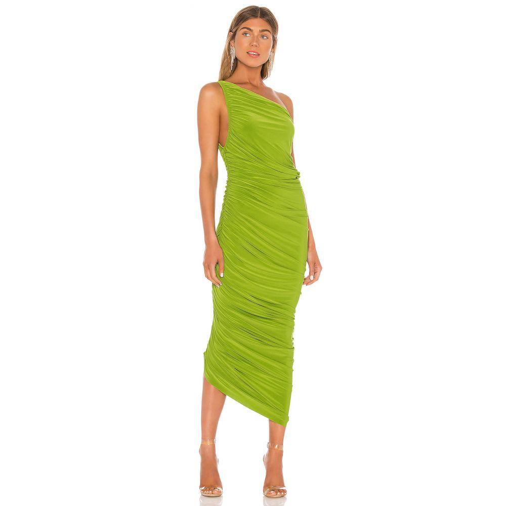 ノーマ カマリ Norma Kamali レディース パーティードレス ワンピース・ドレス【x REVOLVE Diana Gown】Matcha Green