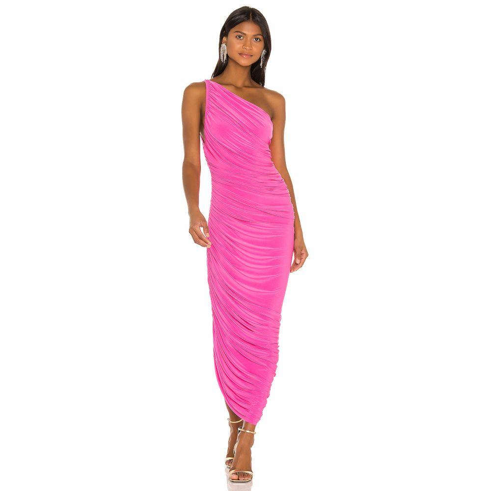 ノーマ カマリ Norma Kamali レディース パーティードレス ワンピース・ドレス【X REVOLVE Diana Gown】Orchid Pink