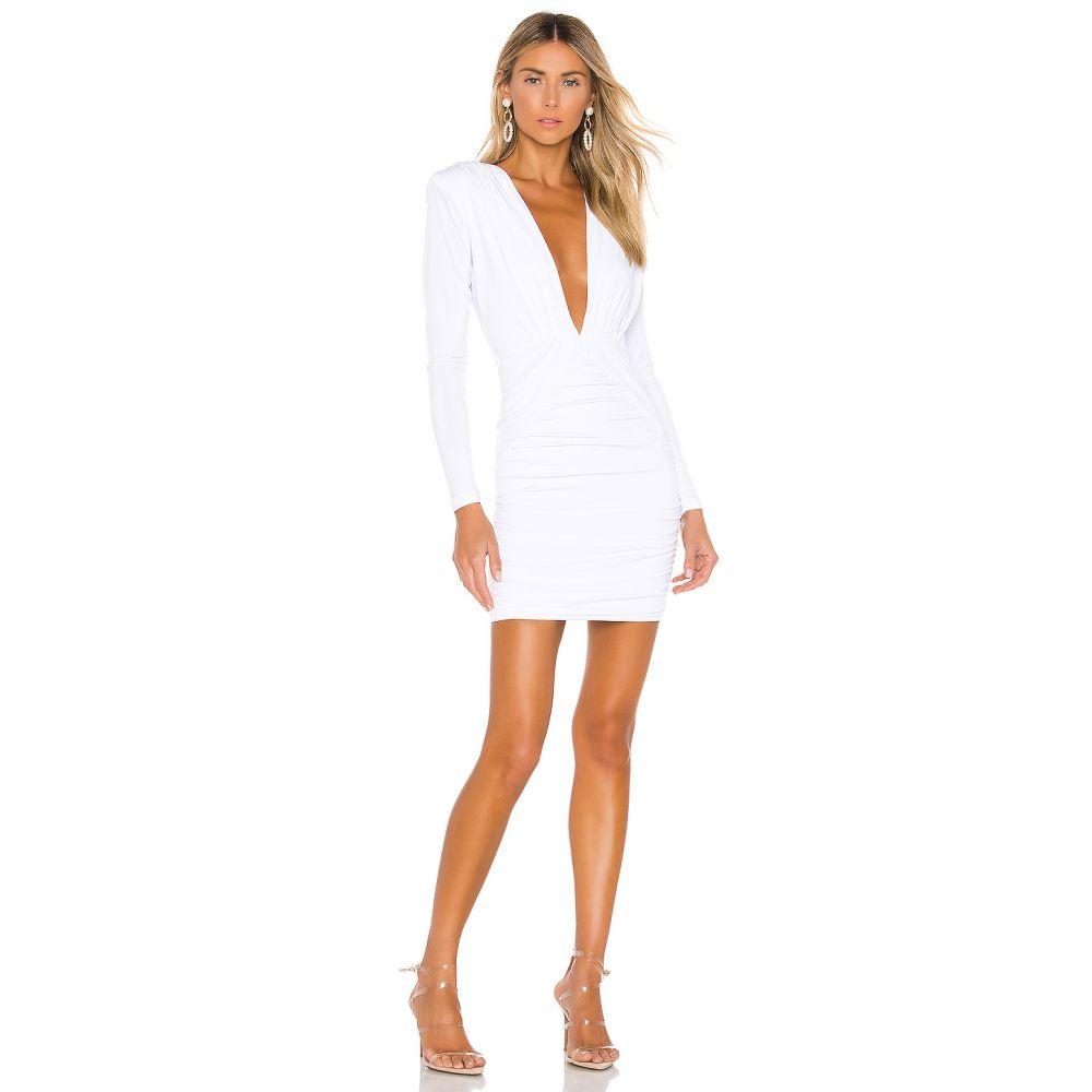 ノーキー Nookie レディース ボディコンドレス ワンピース・ドレス【Temptation Long Sleeve Mini Dress】White
