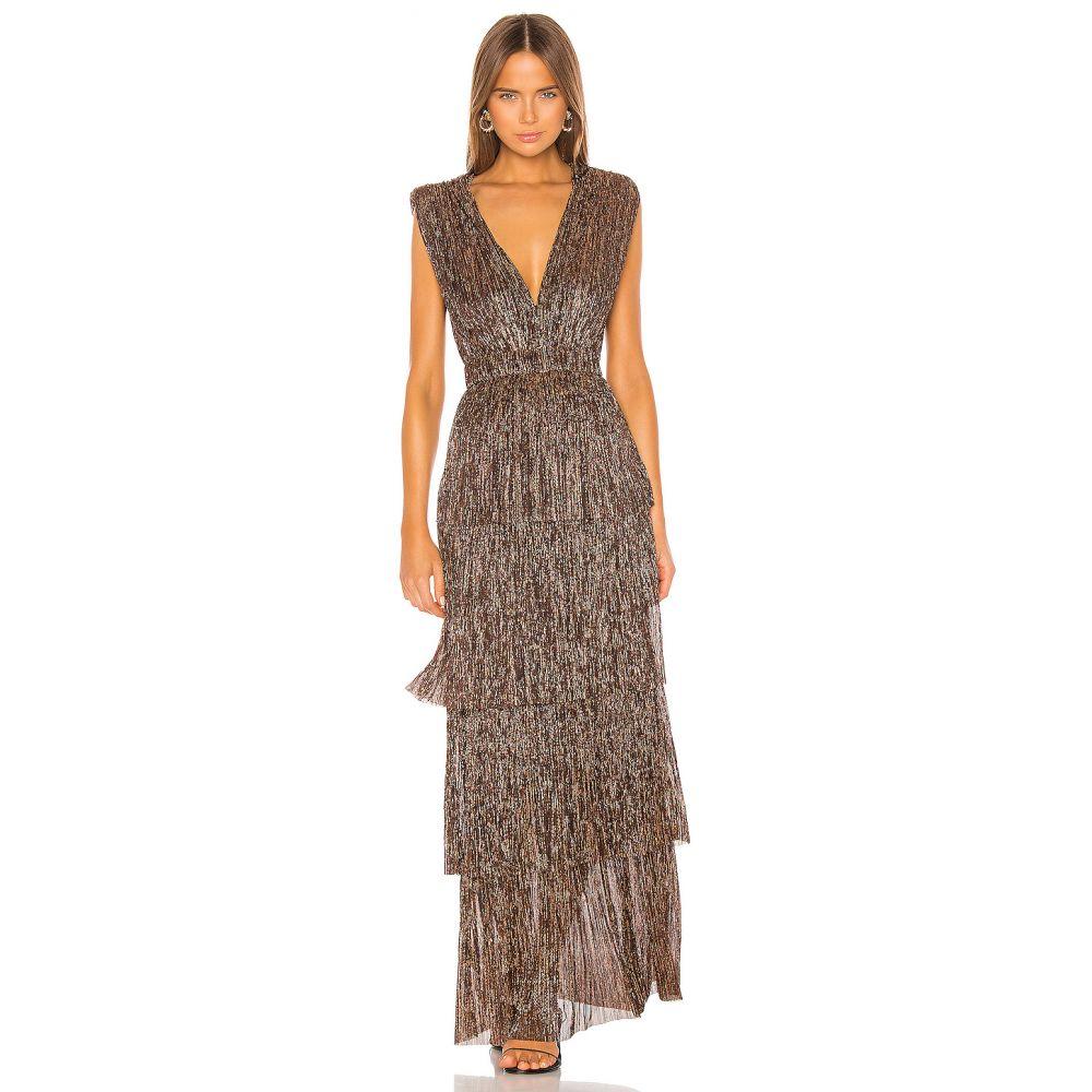 サビーナ ムサエフ Sabina Musayev レディース パーティードレス ワンピース・ドレス【Skylar Gown】Bronze