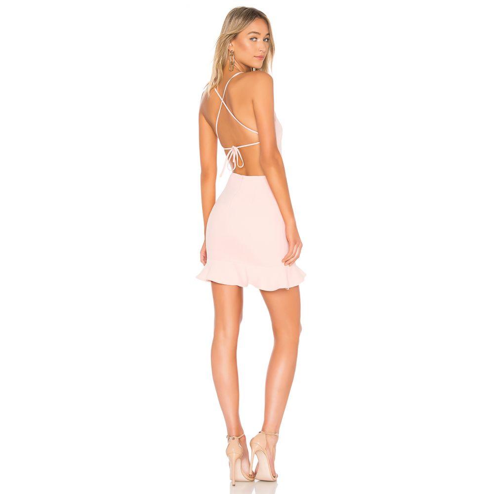 スーパーダウン superdown レディース ワンピース ワンピース・ドレス【Darlah Tie Back Frill Dress】Pink