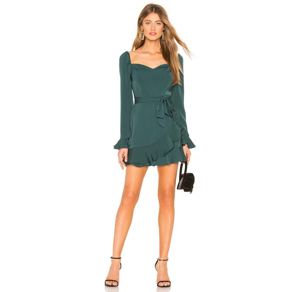 スーパーダウン superdown レディース ワンピース ワンピース・ドレス【Khloe Mini Dress】Emerald Green