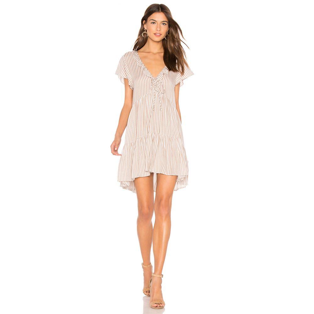 オーギュスト AUGUSTE レディース ワンピース ワンピース・ドレス【Matilda Babydoll Dress】Almond Stripe