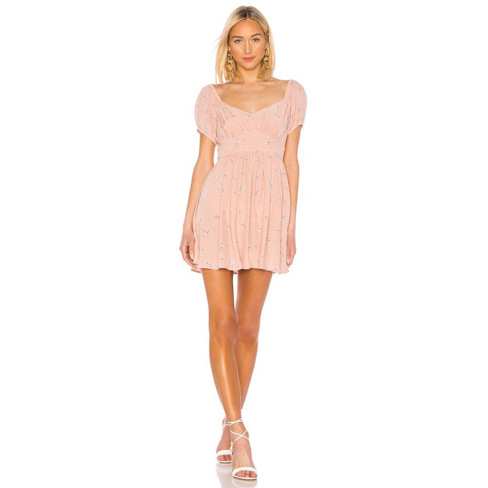 オーギュスト AUGUSTE レディース ワンピース ワンピース・ドレス【Clementine Bonne Mini Dress】Blush
