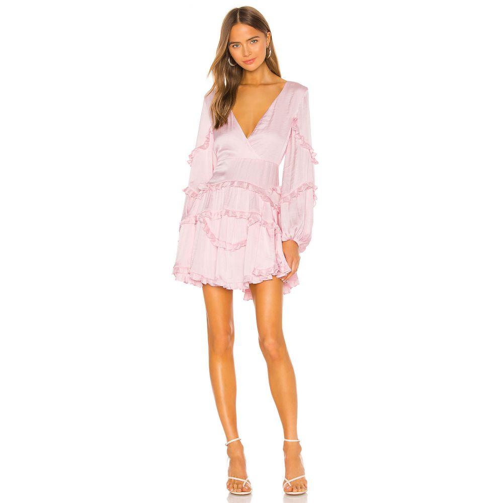 バルドー Bardot レディース ワンピース ワンピース・ドレス【Nala Frill Dress】Pink Rose