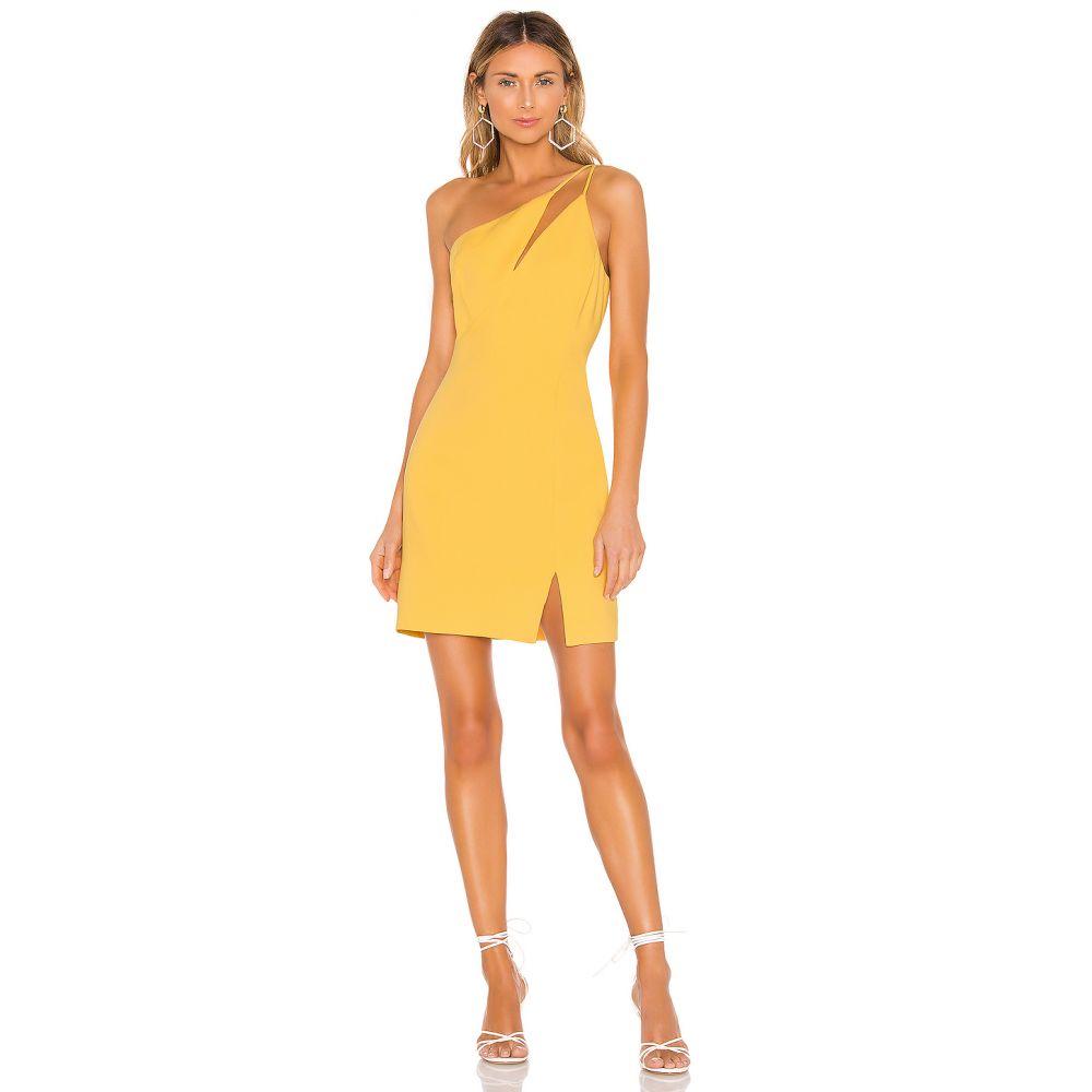 ビーシービージーマックスアズリア BCBGMAXAZRIA レディース ワンピース ワンピース・ドレス【One Shoulder Cut Out Dress】Golden Cream
