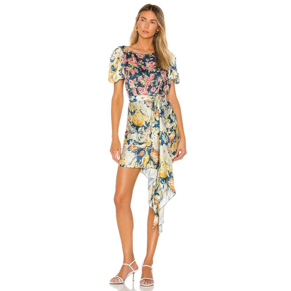 ヘマント&ナンディータ HEMANT AND NANDITA レディース ワンピース ワンピース・ドレス【x REVOLVE Della Mini Dress】Blue Floral