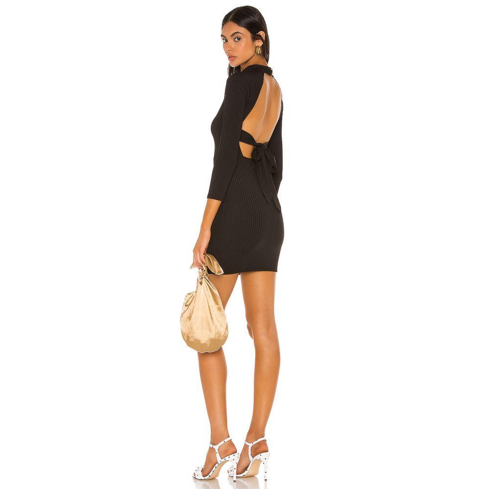 カミラ コエーリョ Camila Coelho レディース ワンピース ワンピース・ドレス【Antonella Mini Dress】Black