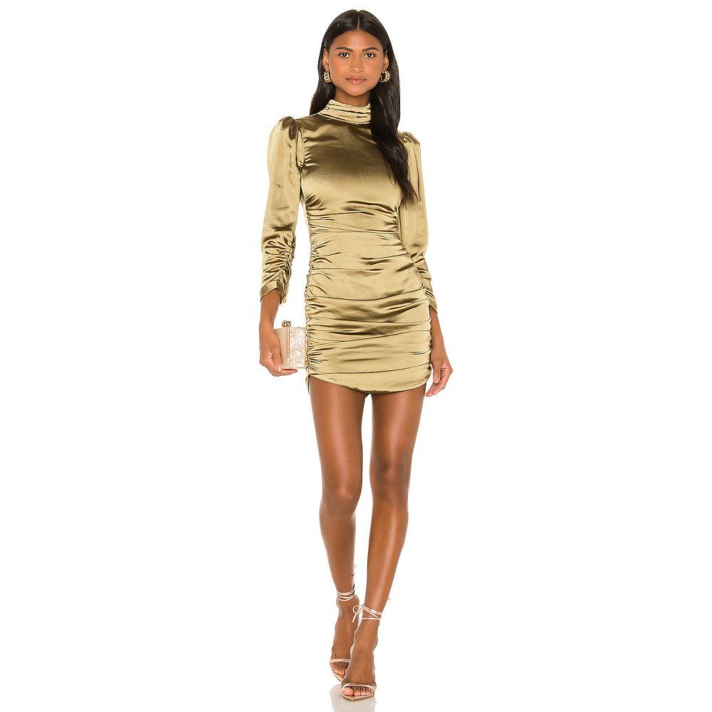 カミラ コエーリョ Camila Coelho レディース ワンピース ワンピース・ドレス【Viviane Mini Dress】Olive Green