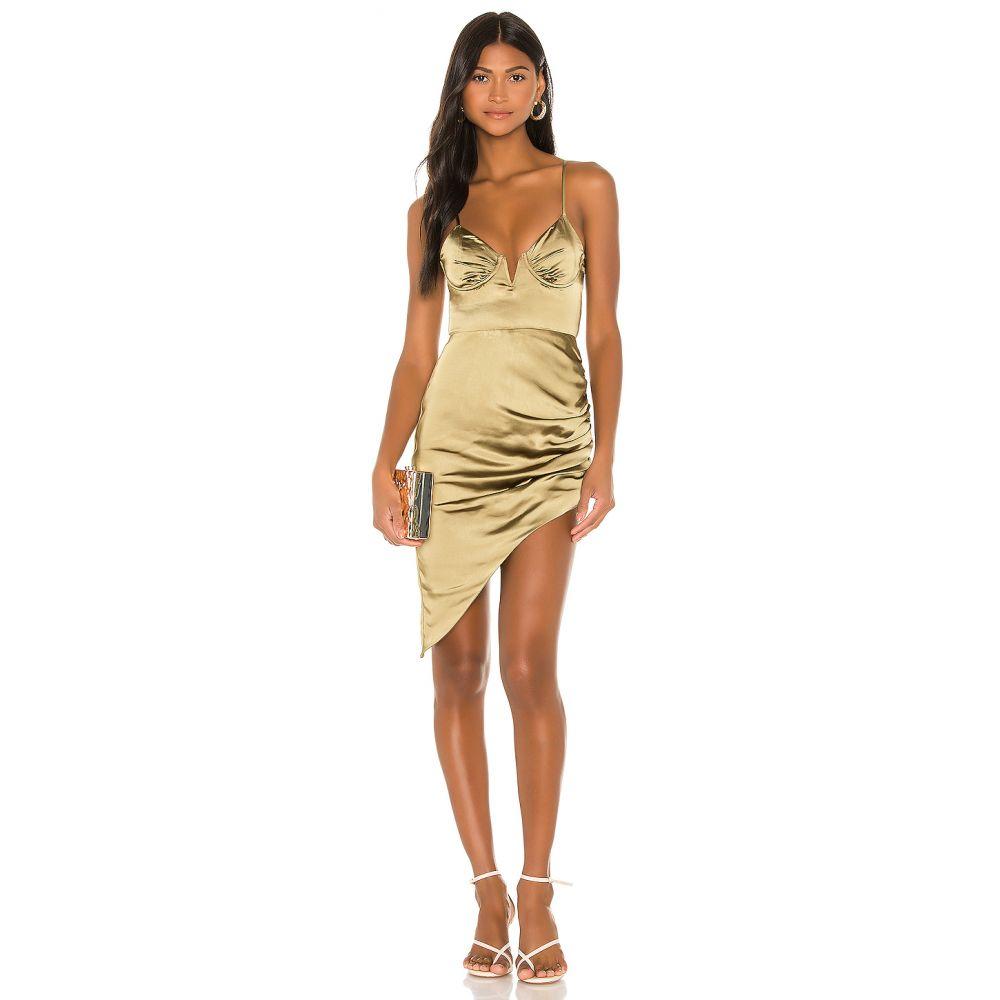 カミラ コエーリョ Camila Coelho レディース ワンピース ワンピース・ドレス【Lorena Midi Dress】Olive Green