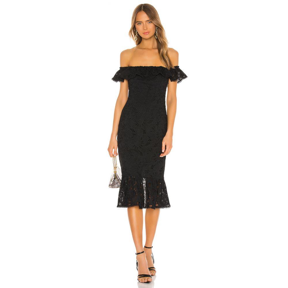 カミラ コエーリョ Camila Coelho レディース ワンピース ワンピース・ドレス【Brea Midi Dress】Black