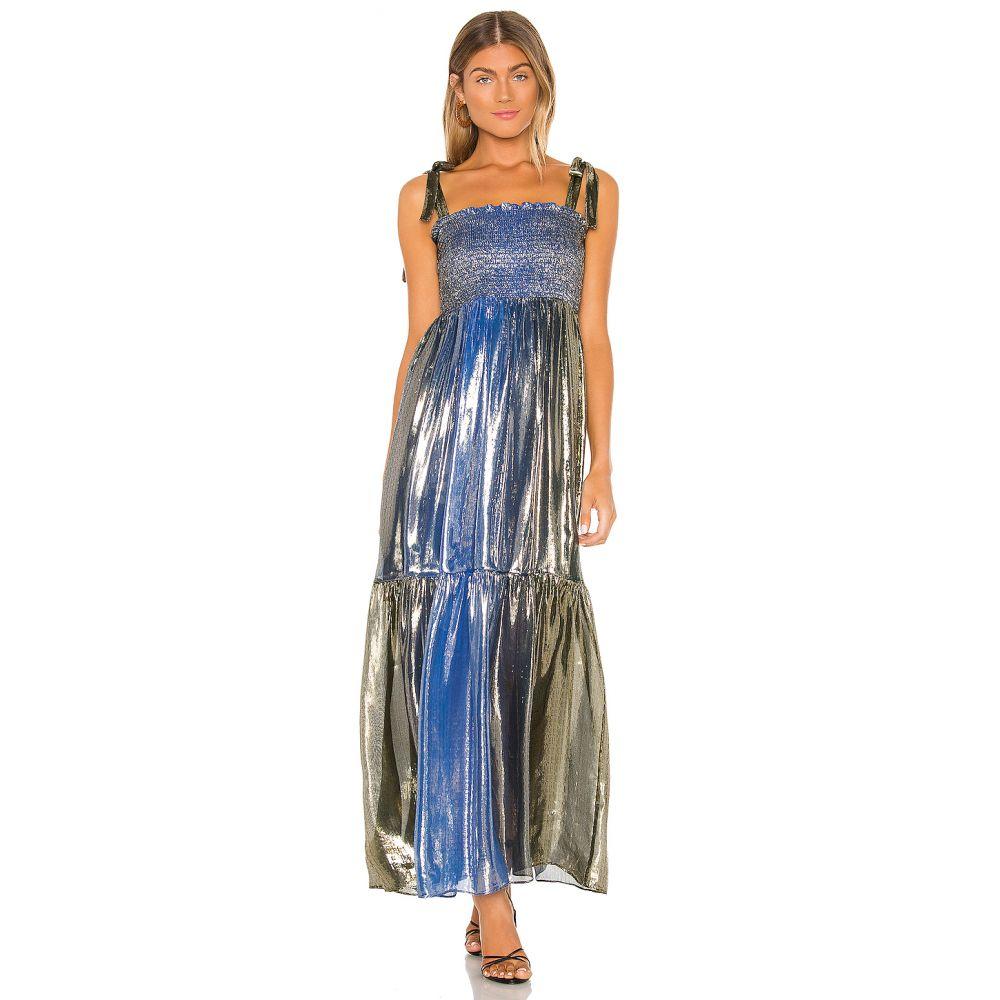 シンシア ローリー Cynthia Rowley レディース ワンピース ワンピース・ドレス【Maxi Dress】Blue Green
