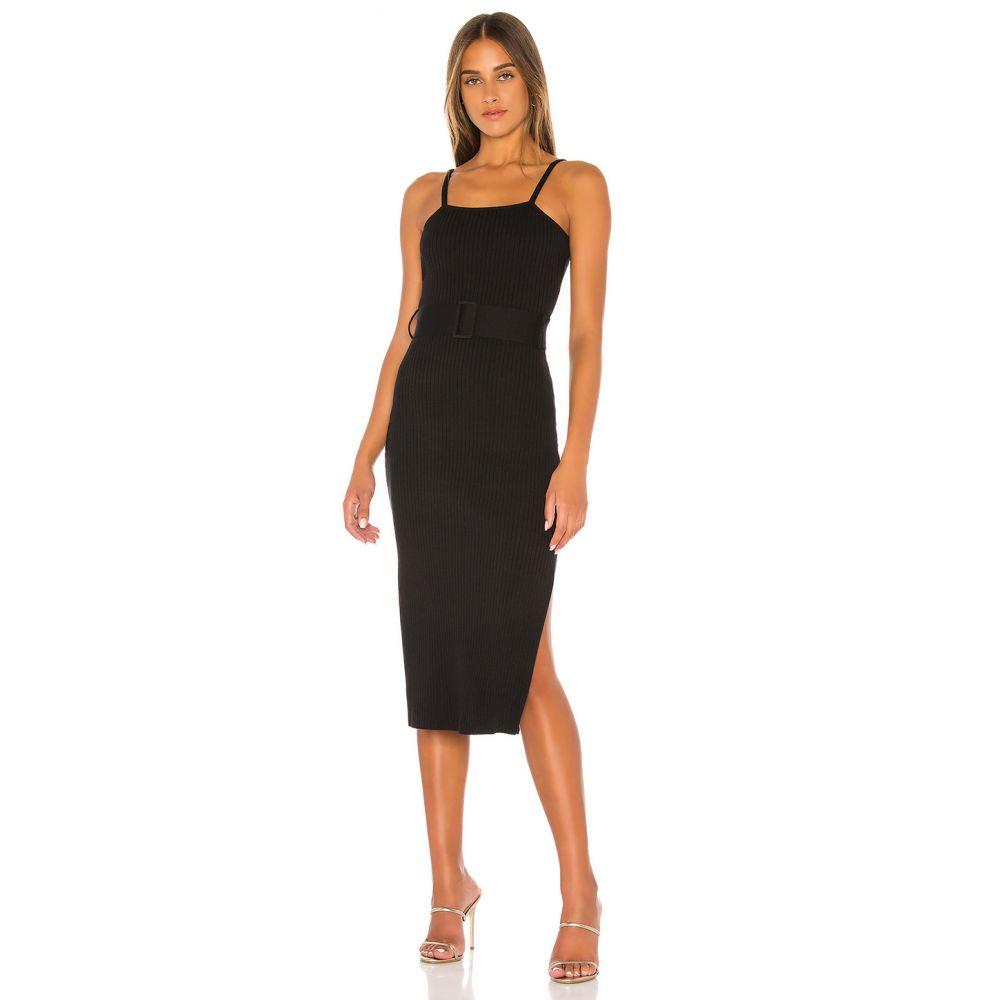 ファインダーズ キーパーズ Finders Keepers レディース ワンピース ワンピース・ドレス【x REVOLVE Briggitte Knit Dress】Black