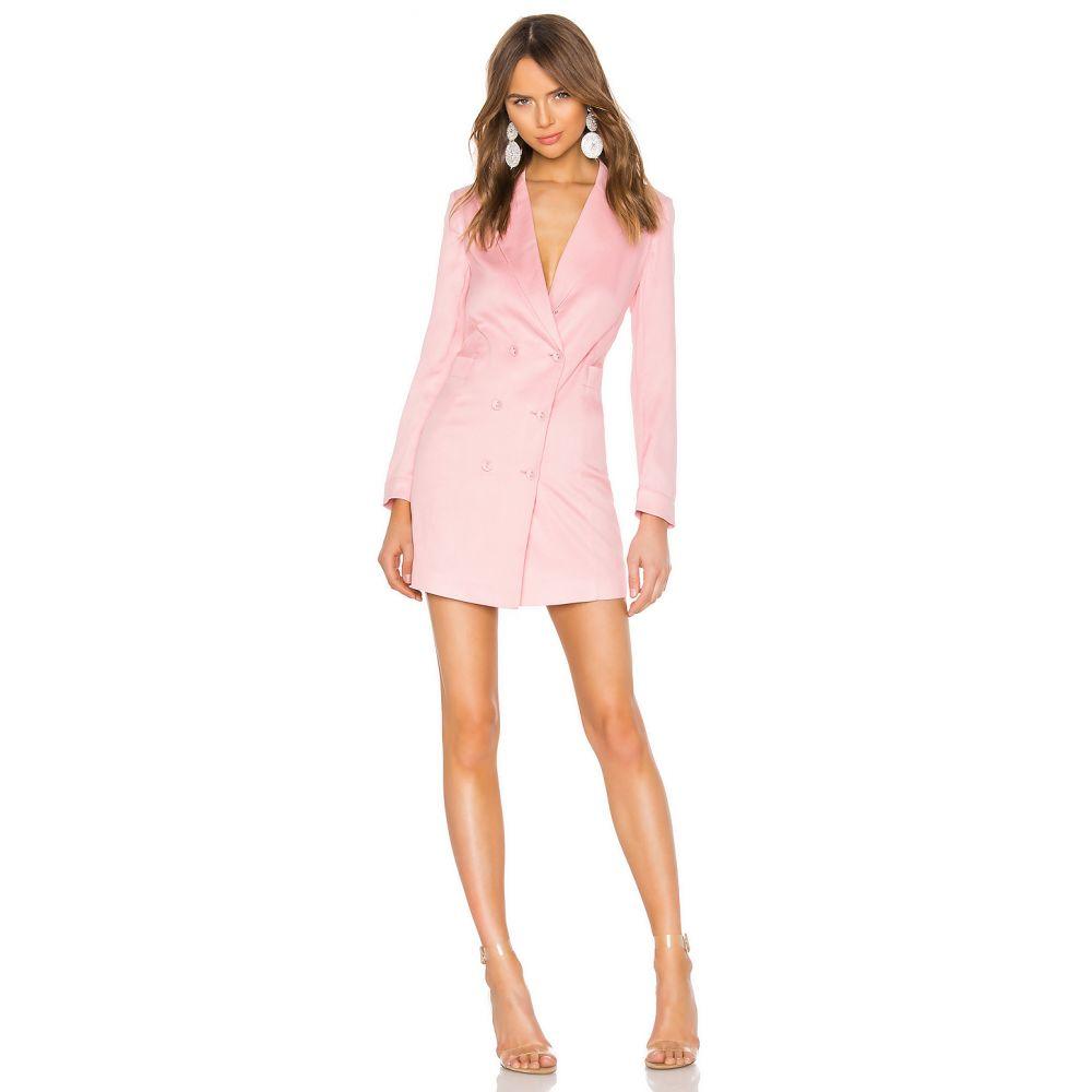 フルール ドゥ マル fleur du mal レディース ワンピース ワンピース・ドレス【Double Breasted Blazer Dress】Coral Blush