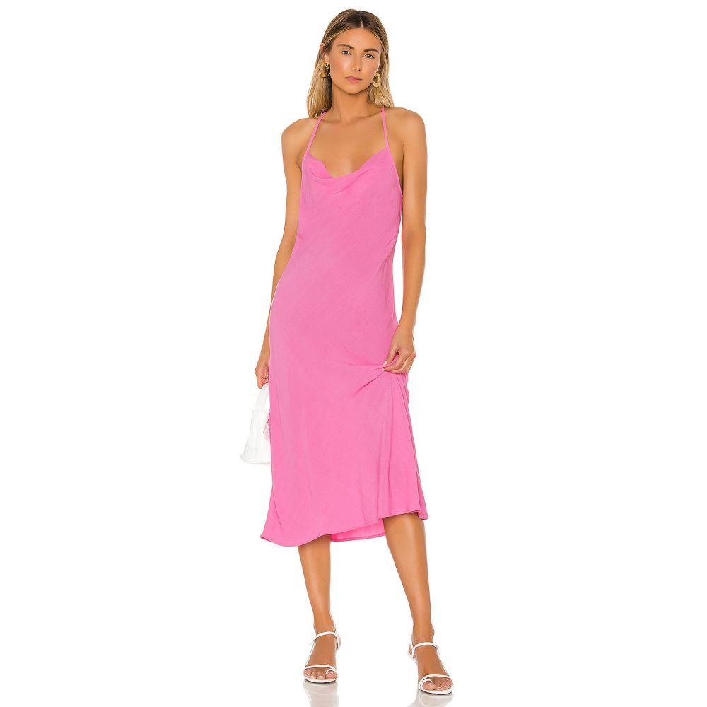 フリンスカイ FLYNN SKYE レディース ワンピース ワンピース・ドレス【Lynn Midi Dress】Peony Pink