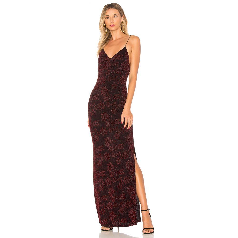 ハウスオブハーロウ1960 House of Harlow 1960 レディース ワンピース ワンピース・ドレス【x REVOLVE Rae Crossback Dress】Garnet