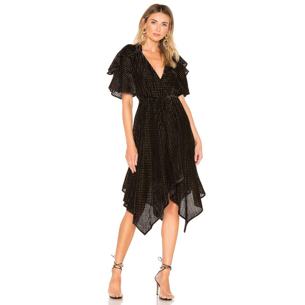 ハウスオブハーロウ1960 House of Harlow 1960 レディース ワンピース ワンピース・ドレス【x REVOLVE Cecilio Dress】Noir