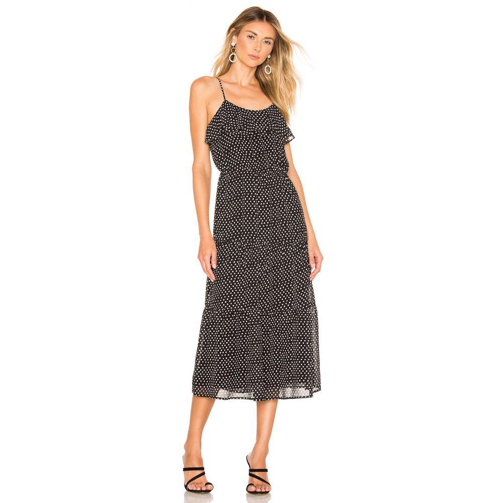 ハウスオブハーロウ1960 House of Harlow 1960 レディース ワンピース ワンピース・ドレス【X REVOLVE Mariam Dress】Black/White Dot