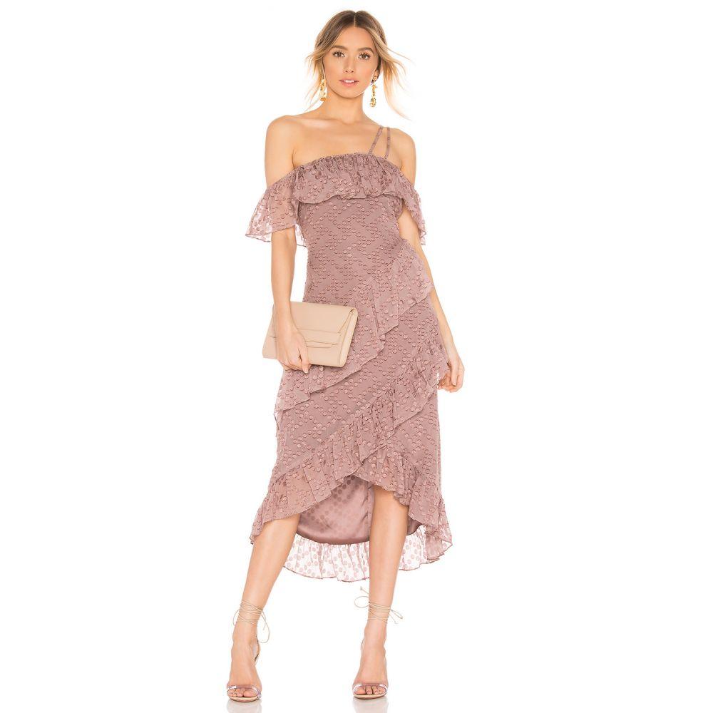 ハウスオブハーロウ1960 House of Harlow 1960 レディース ワンピース ワンピース・ドレス【x REVOLVE Reno Dress】Mauve Purple