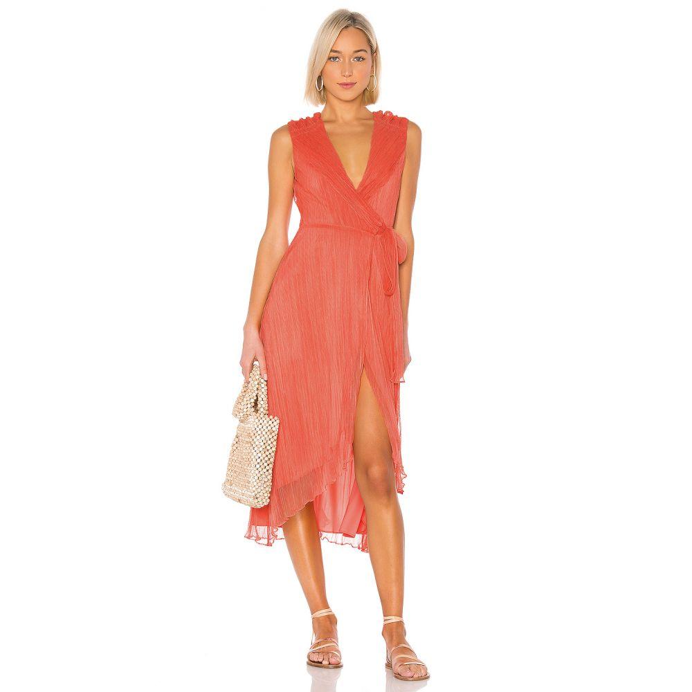 ハウスオブハーロウ1960 House of Harlow 1960 レディース ワンピース ワンピース・ドレス【X REVOLVE Meriem Dress】Coral