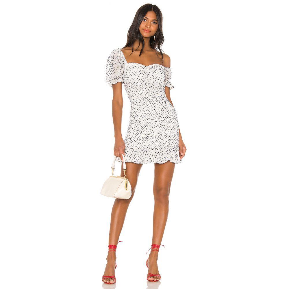 ハウスオブハーロウ1960 House of Harlow 1960 レディース ワンピース ワンピース・ドレス【X REVOLVE Fleur Mini Dress】White/Navy