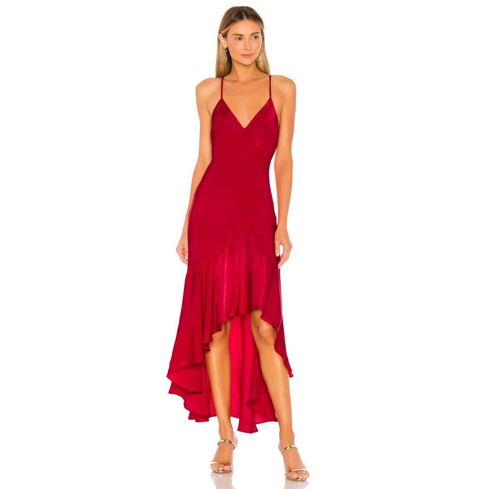 ハウスオブハーロウ1960 House of Harlow 1960 レディース ワンピース ワンピース・ドレス【x REVOLVE Mirna Dress】Crimson
