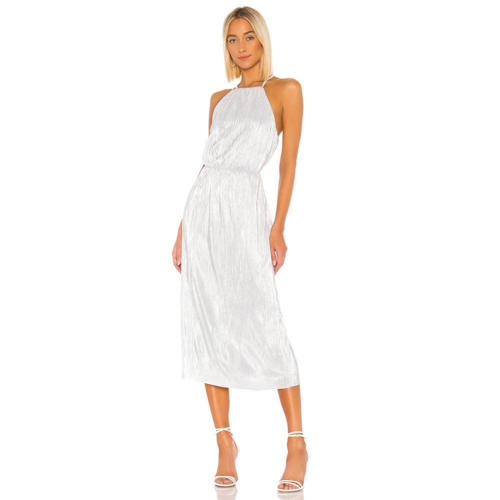 ハウスオブハーロウ1960 House of Harlow 1960 レディース ワンピース ワンピース・ドレス【x REVOLVE Farrah Dress】Silver