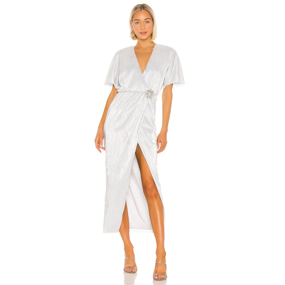ハウスオブハーロウ1960 House of Harlow 1960 レディース ワンピース ワンピース・ドレス【x REVOLVE Sabrina Dress】Silver