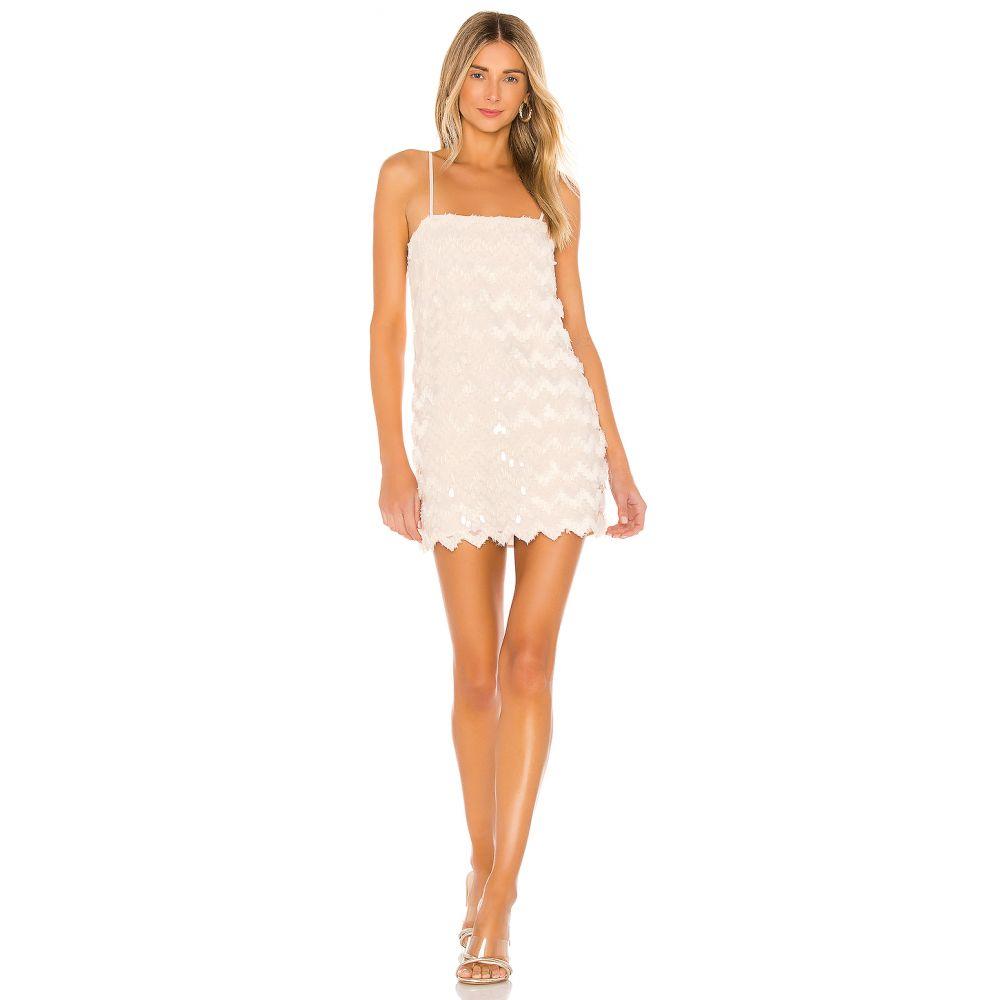 ハウスオブハーロウ1960 House of Harlow 1960 レディース ワンピース ワンピース・ドレス【x REVOLVE Kristian Dress】Ivory