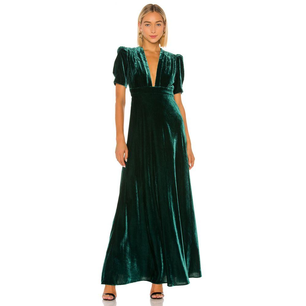 ジル スチュアート JILL JILL STUART レディース ワンピース ワンピース・ドレス【Velvet Dress】Spruce