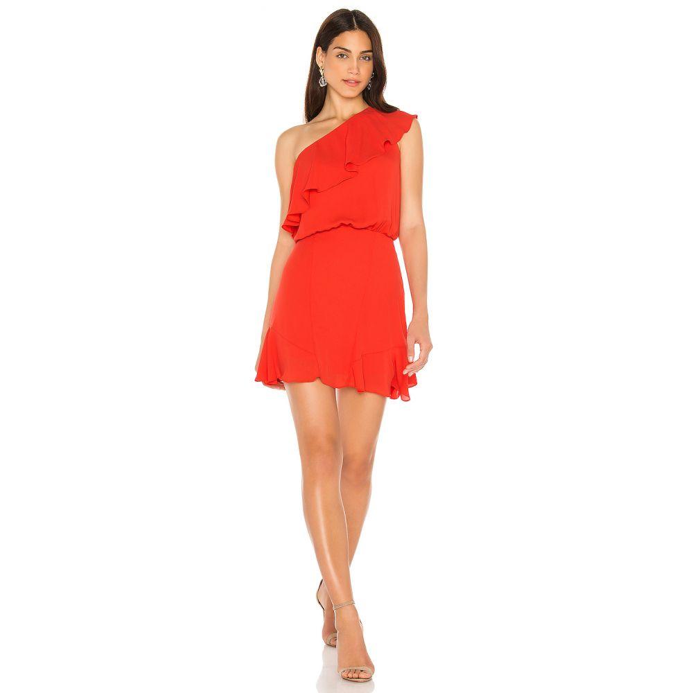クリサ krisa レディース ワンピース ワンピース・ドレス【One Shoulder Ruffle Dress】Samba
