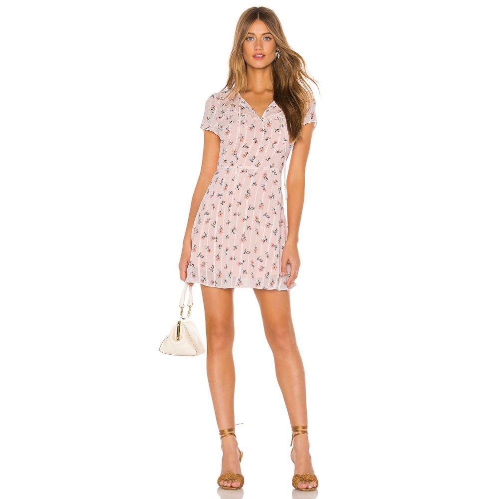 ライン アンド ドット Line & Dot レディース ワンピース ワンピース・ドレス【Malte Mini Dress】Peach