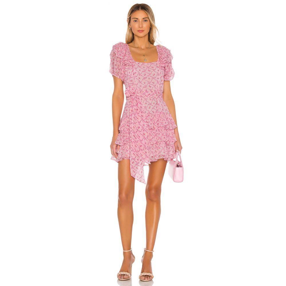 ラブシャックファンシー LoveShackFancy レディース ワンピース ワンピース・ドレス【Kimbra Dress】Pink Bonnet